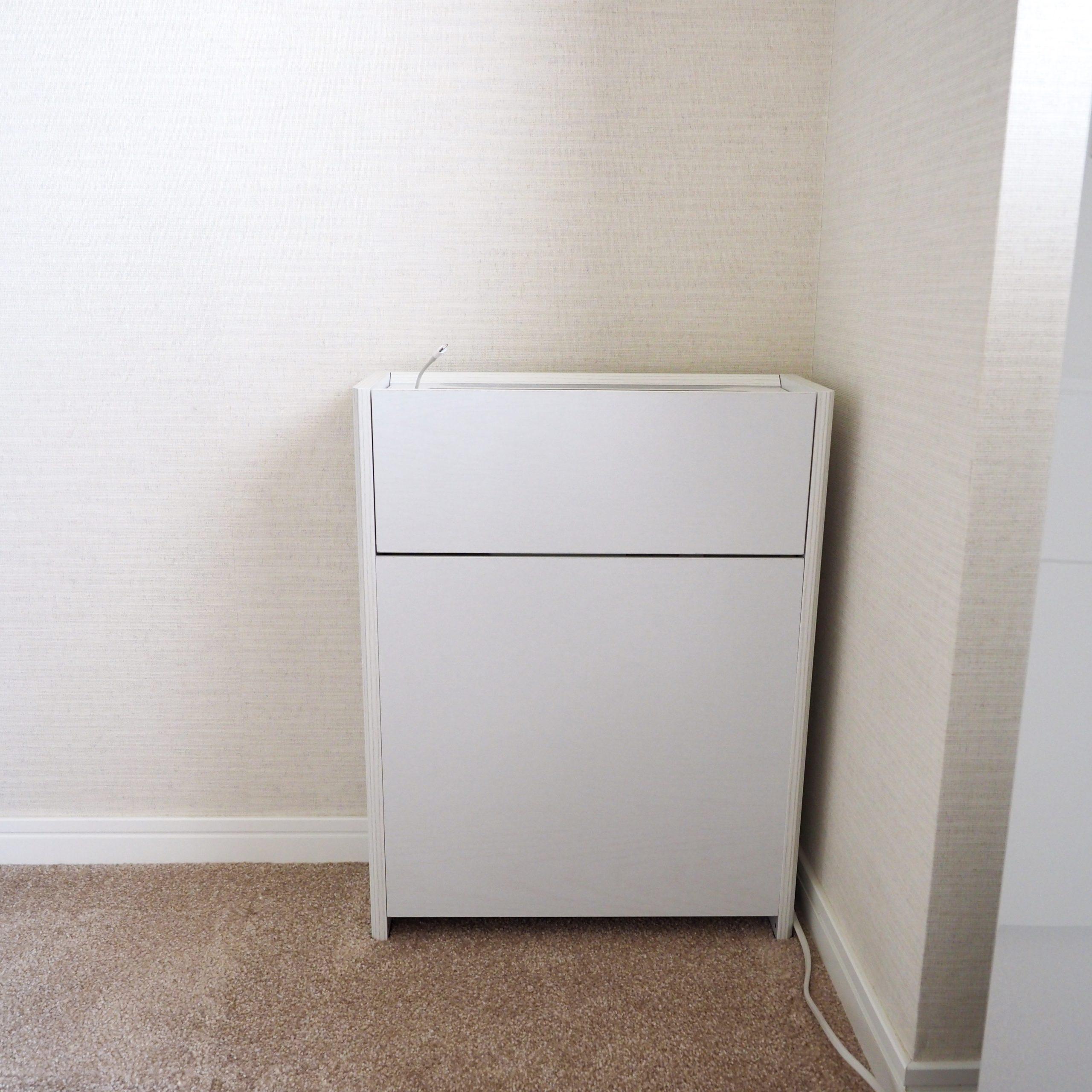 サンワダイレクトのルーター収納ボックス・実例